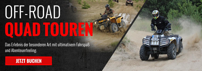 Off-road Quad Touren